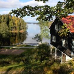 Das schwedische Ferienhaus für Kinder und Jugendreisen Greagarden am See.