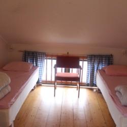 Die Doppelzimmer im Gruppenhaus Greagarden in Schweden.