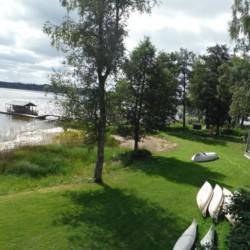 Kanutour am Ferienhaus Majblommegården in Schweden.