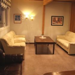 Ein Gruppenraum im Gruppenhaus Munkaskog in Schweden.