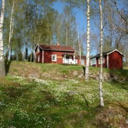 Die Umgebung des Freizeitheims Ralingsåsgården in Schweden.