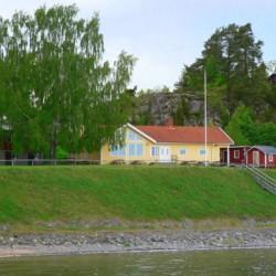 schwedisches Gruppenhaus Rörviksgården direkt am See