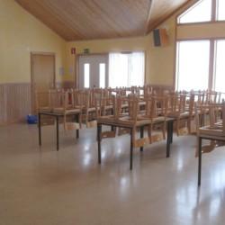 Gruppenraum im schwedischen Freizeitheim Rörviksgården direkt am See