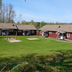 schwedisches Gruppenhaus Hamneda Fritidsgård für Jugendfreizeiten