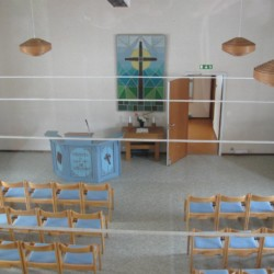 Kapelle vom schwedischen Freizeitheim Hamneda Fritidsgård für Kinderfreizeiten