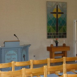 Kapelle vom schwedischen Freizeitheim Hamneda Fritidsgård für Jugendfreizeiten