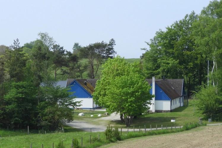 Das Gruppenhaus Tygegården am Wald in Schweden für Kinder und Jugendfreizeiten.
