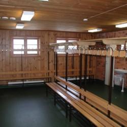 Sauna im schwedischen Freizeithaus Gussjöstugan für Kinder und Jugendreisen.