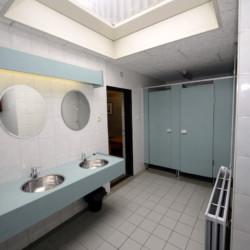 NLZB Bad im niederländischen Freizeithaus Benelux für Behindertengruppen
