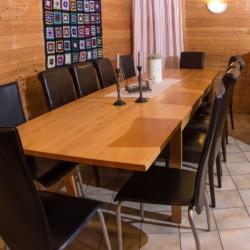 Gruppenraum im norwegischen Freizeitheim Vatnar Leirsted