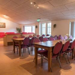 Speisesaal im niederländischen Gruppenhaus Het Lohr