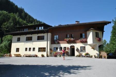 Das Gruppenhotel Prommegger in Österreich von außen.