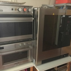Die Küchengeräte in der Küche im Haus Wendy für Gruppenreisen in Österreich.