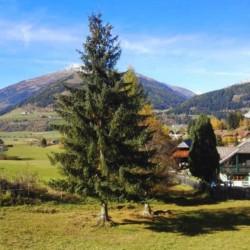 Berge, Täler und Dörfer am österreichischen Freizeitheim Haus Wendy für Kinder und Jugendreisen.