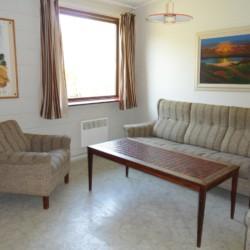 Wohnzimmer im dänischen Gruppenhaus Ristingegaard