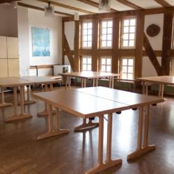 Der Gruppenraum des Hauses Largesberg in Deutschland.
