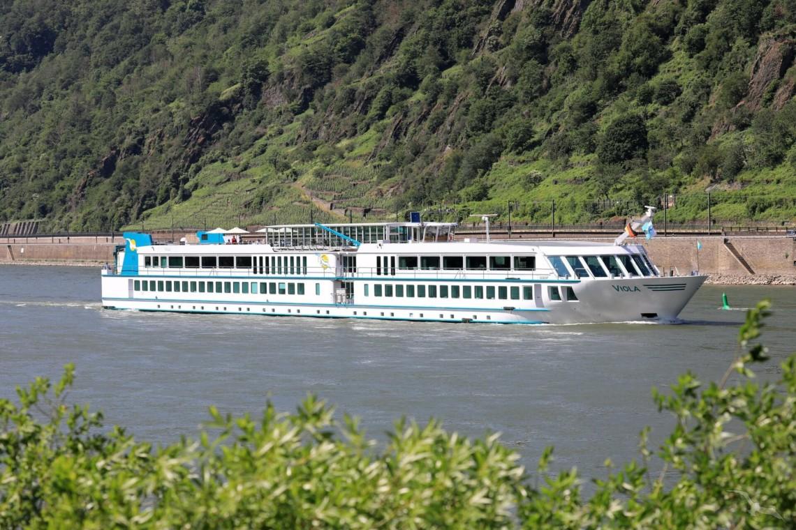 Das barrierefreie Flusskreuzfahrtschiff MS Viola für Gruppenreisen in Deutschland.