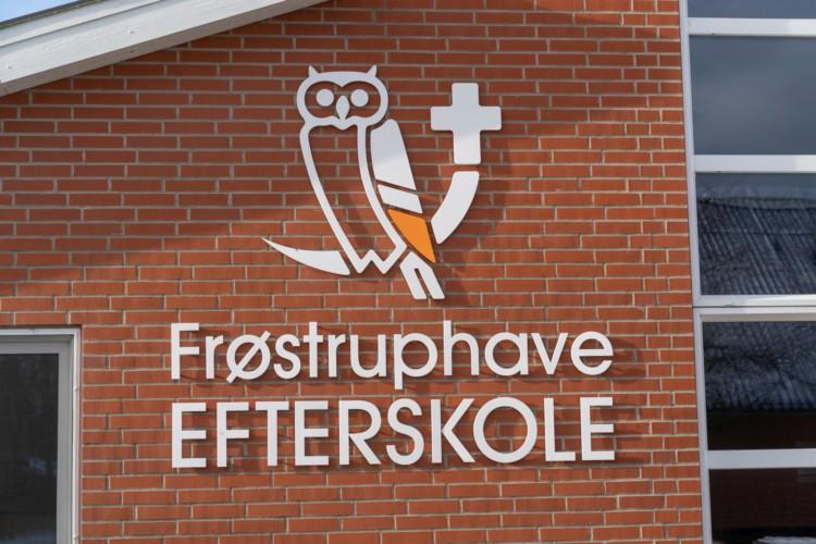 Das dänische Freizeitheim Frostruphave.