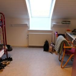 Ein Zimmer im dänischen Freizeitheim Helsinge.