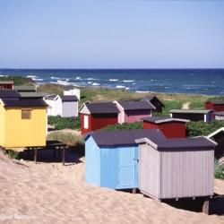 Ein nahegelener Strand am Freizeitheim Helsinge in Dänemark.