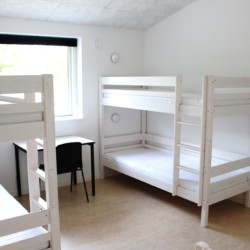 rolligerechtes Zimmer im dänischen Gruppenhaus Rolandhytten