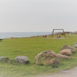 Badestelle am Gruppenhaus Skovly Langeland in Dänemark.