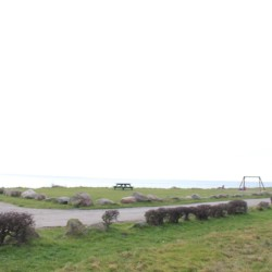 Das Meer am Freizeitheim für Kinder und Jugendliche Skovly Langeland in Dänemark.