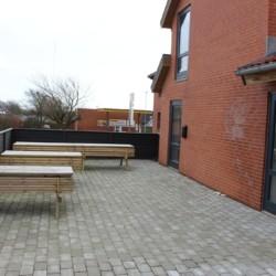 Handicapgerechtes Gruppenhaus mit Terasse im dänischen Thy.