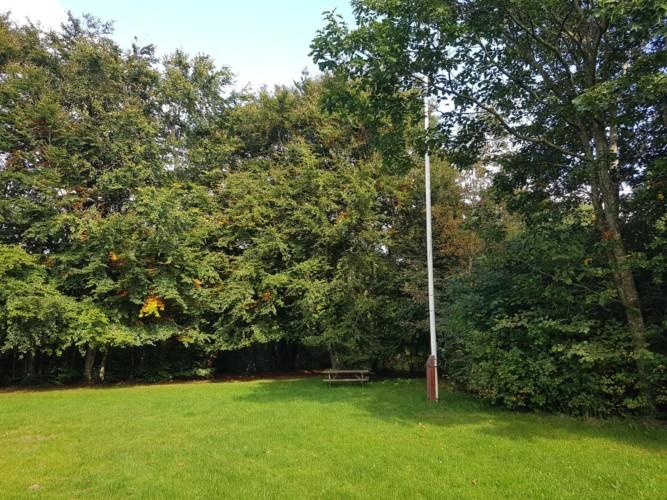 großes Scoutgelände des dänischen Jugendlagers Trevaeldcentret
