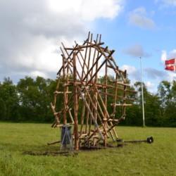 großes Scoutgelände des dänischen Gruppenhauses Trevaeldcentret
