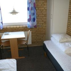 Doppelzimmer im dänischen Gruppenhaus Virksund