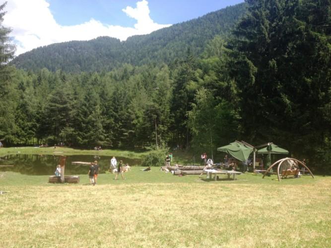 See am Freizeitheim Graahof in Südtirol