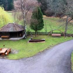 Innenhof vom Jugendfreizeitheim Graahof in Südtirol