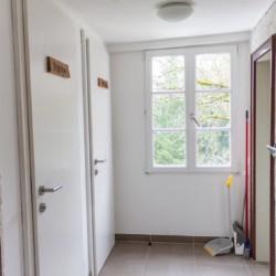 Duschen im Freizeitheim Graahof für Jugendliche in Südtirol