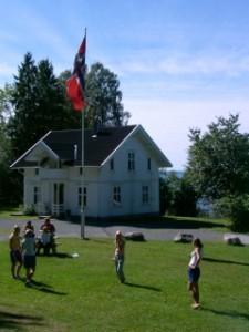 Das Gruppenhaus Lunde in Norwegen.