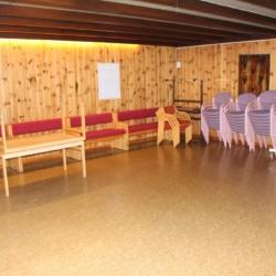 Der Gruppenraum im Gruppenhaus Lunde in Norwegen.