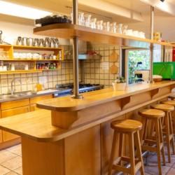 Küche im barrierefreien Gruppenhaus Anderhoes in den Niederlanden
