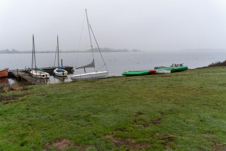 Seezugang vom niederländischen Gruppenhaus Bij Ceulemans direkt am See für Jugendfreizeiten