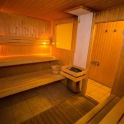 Sauna im niederländischen Gruppenhaus State für behinderte Menschen