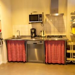 Küche im Gruppenhaus ImminkBrink für behinderte Menschen