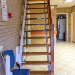 Treppenlift im niederländischen Gruppenhaus ImminkBrink