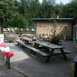 Außengelände vom niederländischen Gruppenhaus Kwartjesberg