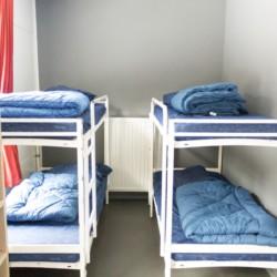 Achtbettzimmer im niederländischen Gruppenhaus Kwartjesberg