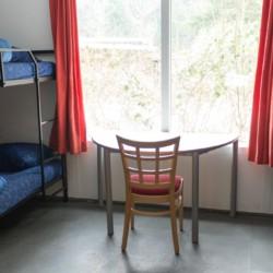 Vierbettzimmer im niederländischen Gruppenhaus Kwartjesberg