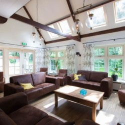 Ein Gruppenraum im Freizeitheim Nieuwe Brug in den Niederlanden.