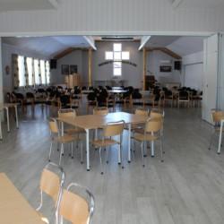 Der Gruppenraum im norwegischen Gruppenraum Audnastrand.
