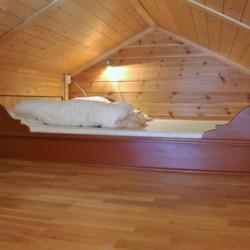 Hems mit 2 Schlafplätzen im norwegischen Gruppenhaus Utiskten