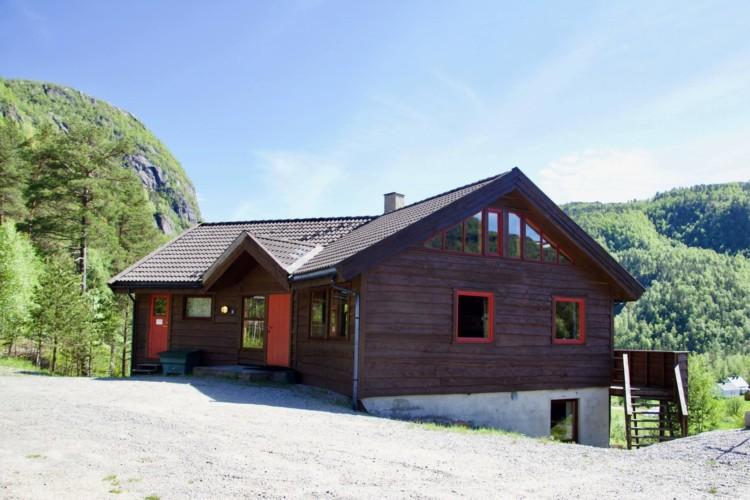 Das norwegische Gruppenhaus Omlid für Kleingruppen und christliche Freizeiten.