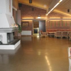 Der Gruppenraum im norwegsichen Gruppenhaus Sjöglimt.