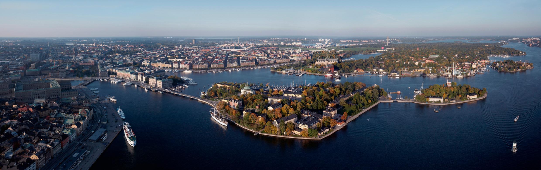 Urbanes Flair und Natur geben sich in Stockholm die Klinke in die Hand. © Ola Ericson/imagebank.sweden.se